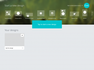 There are tons of built-in templates, most of which are ready-made to share on social media.