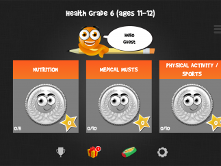 iTooch 6th Grade Health features five units of rich health and wellness content for middle school students.