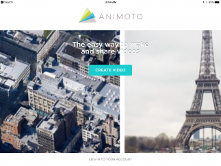 Animoto is a digital slide show creator.