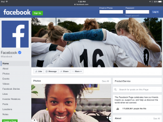 People and companies can create pages where they can post updates, share media, and schedule events.