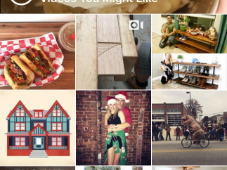 Browse the public feed to see posts from celebrities, vendors, and people who've shared their profiles publicly.