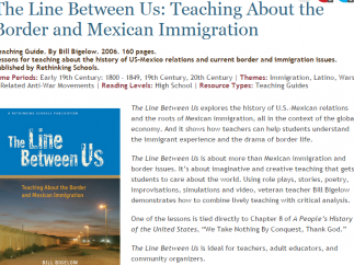 Resources examine issues related to Mexican immigration.