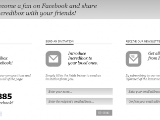 There's no sign-up or login, but users can share their work socially.