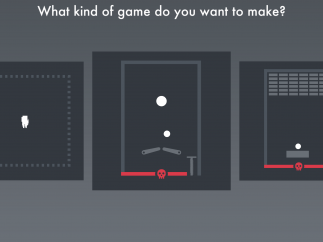 To design your game, pick a game type or start from scratch.