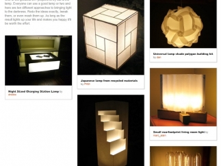 Found in the Teachers Resource section, this is an example of a collection of projects grouped around a certain theme.