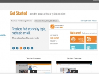 Teachers and students can get oriented through great help text on the developer's website.