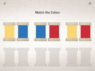 Shake the screen and watch the color tablets mingle, then match pairs.