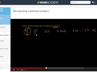 Short videos offer support, and provide direct instruction on math concepts.