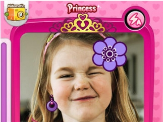 Kids take on the look of princesses, monsters, and more for creative photos.