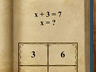 Solve problems involving equations with variables.