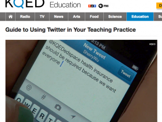 Teachers can find help and advice on using social media in the classroom.