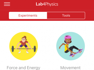 Choose set experiments, or use the tools to design your own.
