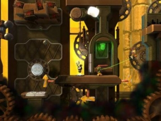 The story mode familiarizes players with the physics of the game.
