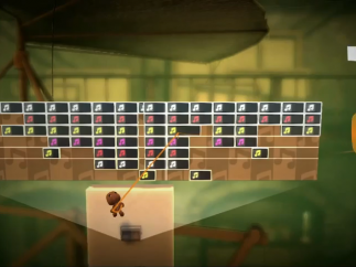 This level isn't even a game: it's a music sequencer!