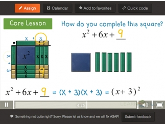 Animated graphics help kids grasp difficult concepts.