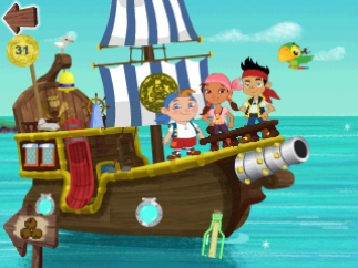 Explore Bucky with Jake and the Neverland Pirates.