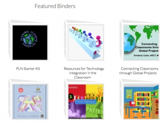 Once a binder is made public, it becomes part of a vast selection of resources in the site's gallery.