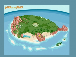 Explore the island with familiar characters.