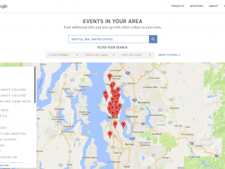 Search database for coding events across the United States.