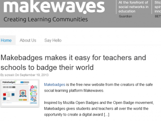A blog provides updates and classroom ideas.