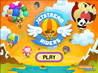 Fly a hot air balloon in this arithmetic-based racing game.