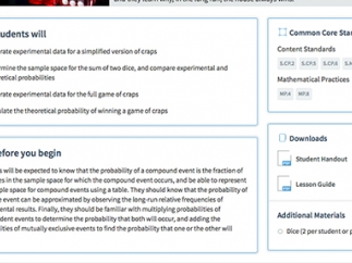 The Plan section of each lesson makes planning a snap!
