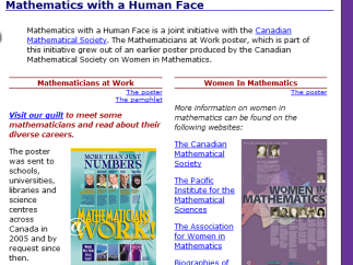 You can find out more about mathematicians and their lives here.
