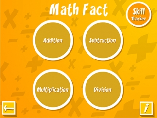 Math Facts includes targeted drills for building fluency.