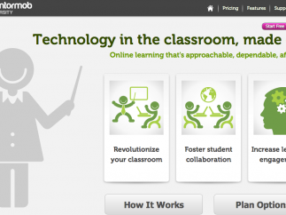 The welcome screen provides a great overview of the tool.