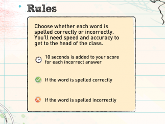 The game starts with an introduction to the rules.