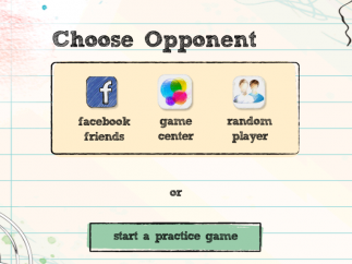 Find opponents through social networks.