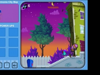 Students will recognize familiar platform gameplay.