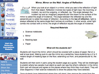 An example of the teacher guide that accompanies each student activity