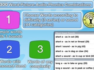 Customization allows kids to focus on specific sounds and word complexities.