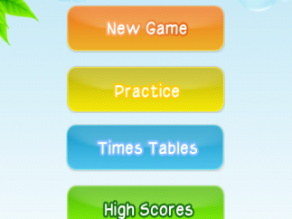 Main menu with top banner ad; the app would get a boost if users could pay to remove ads.