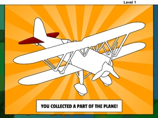 Complete levels to rebuild Linka's plane.