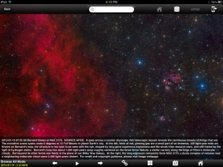 Visually stunning images of space dominate NASA App.