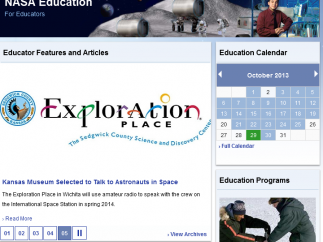 Educator links include lessons and articles.