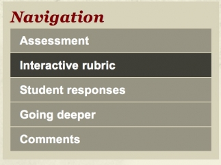 Each resource includes an assessment, a rubric, student responses, and extensions.