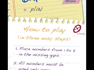 Directions are simple, but play is challenging.