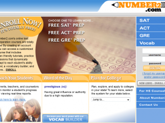 A whole bunch of solid test prep awaits you at Number2.com.