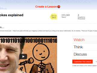 TED-Ed also features Numberphile videos in some of their lessons.