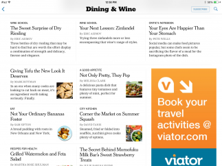 All users have access to each section's front page; a paid subscription offers unlimited access.