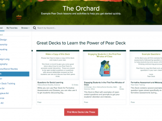 Browse the Orchard to find starter decks for a variety of subjects.