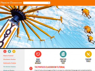 The Physics Classroom: a place for learning, practicing, and teaching physics