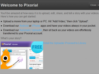 Getting started is quick and seamless with Pixorial's clean interface.