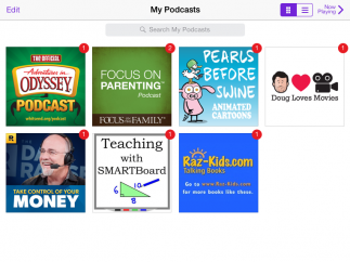 See all podcasts in one place.