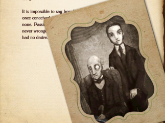 Sketches and animations enhance the stories.