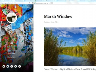 Students can use postach.io to display photography or other media that interests them.