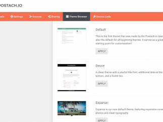 Multiple themes and other customization features help users personalize their blogs.
